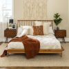This item: Queen Caramel 92-Inch Spindle Bed