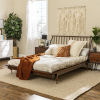 This item: Queen Walnut 92-Inch Spindle Bed