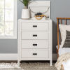 This item: Lydia White Chest with Four Drawer