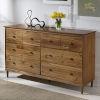 This item: Caramel Six Drawer Dresser