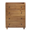 This item: Morgan Caramel Chest with Four Drawer