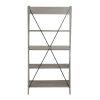 This item: Gray 68-Inch Bookshelf