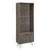 This item: Slate Gray 68-Inch Storage Cabinet