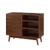 This item: Paula Walnut Bar Cabinet
