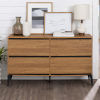 This item: Elroy English Oak and Black Storage Console