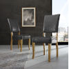This item: Charcoal Upholstered Parsons Dining Chair, Set of 2