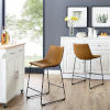 This item: Whiskey Brown Counter Stool, set of 2