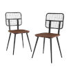 This item: Dark Walnut 33-Inch Dining Chair, Set of 2