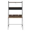 This item: Reclaimed Barnwood 36-Inch Ladder Computer Desk