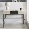 This item: Lilian Birch and Graphite Storage Desk with Tablet Holder