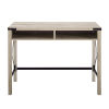 This item: White Oak 42-Inch Metal and Wood Desk