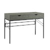 This item: Vetti Gray and Black Two Drawer Desk