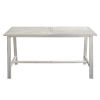 This item: Vincent White Wash Outdoor Dining Table