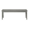 This item: Gray Wash 14-Inch Acacia Wood Outdoor Dining Bench