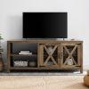This item: Rustic Oak TV Stand