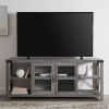 This item: Gray X Frame TV Stand