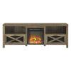 This item: Abilene Barnwood Fireplace TV Stand