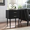 This item: Modern Side Table - Black