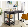 This item: Urban Blend Charcoal 48-Inch Computer Desk