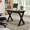This item: Home Office 48-inch Black Glass Computer Desk