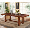 This item: Dark Oak Wood Dining Table