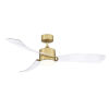 This item: SculptAire Brushed Satin Brass 52-Inch LED Ceiling Fan with Clear Blades