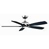 This item: Doren Polished Nickel LED Ceiling Fan