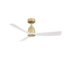 This item: Kute Brushed Satin Brass 44-Inch Ceiling Fan with Matte White Blades
