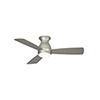 This item: Hugh 44 Brushed Nickel LED Ceiling Fan