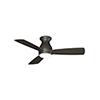 This item: Hugh 44 Matte Greige LED Ceiling Fan