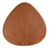 This item: Brown 22-Inch Oval Composite Palm Leaf Outdoor Ceiling Fan Blade, Set of 5