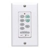 This item: White Fan and White Push Button Wall Control