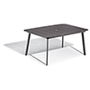 This item: Eiland Carbon 63 In. Rectangular Dining Table