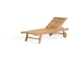 This item: Oxford Natural Outdoor Chaise Lounge