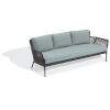 This item: Nette Carbon and Seafoam Outdoor Sofa