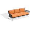 This item: Nette Carbon and Tangerine Outdoor Sofa