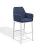 This item: Oland Spectrum Indigo Bar Chair
