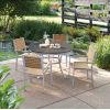 This item: Travira Natural Tekwood Armchair, Set of Four