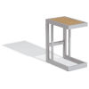 This item: Travira Aluminium and Natural Outdoor C Table