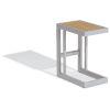 This item: Travira Aluminium and Natural Outdoor C Table