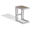 This item: Travira Aluminium and Gray Outdoor C Table