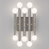 This item: Statement Polished Nickel Ten-Light Sconce