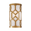 This item: Darling Aged Brass One-Light Wall Sconce