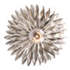 This item: Rosemary Antique Silver One-Light Wall Sconce