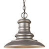 This item: Beauport Silver One-Light Outdoor Pendant