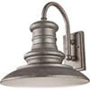 This item: Beauport Silver 15-Inch One-Light Outdoor Gooseneck Wall Mount