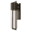 This item: Brixton Bronze Six-Inch One-Light Outdoor Wall Mount
