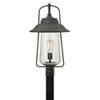 This item: Westport Rubbed Bronze One-Light Outdoor Post Mount