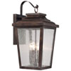 This item: Chamberlain Bronze Four-Light Outdoor Wall Mount