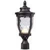 This item: Westcott Black LED Outdoor Post Mount